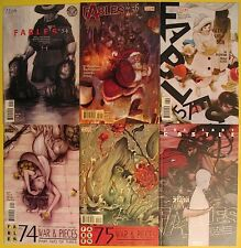 Fables Lot Issues 54 56 57 74 75 & The Last Castle DC Vertigo Comics Willingham