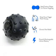 Electric Vibrating Massage Ball 4 Speed High Intensity for Muscle, Yoga, Fitness