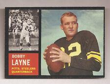 1962 TOPPS #127 BOBBY LAYNE    **OUTSTANDING**