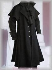 Kutschermantel Horatio schwarz Gothic Steampunk Viktorianisch Hochzeit Larp