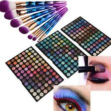252 Full Colors Eyeshadow Pallete Matte Makeup Eye Shadow 7Pcs Cosmetic Brushes
