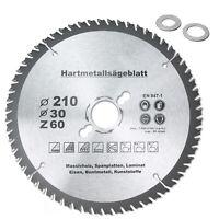 HM Multi Sägeblatt Ø120 Ø160 Ø185 Ø190 Ø210 Ø250mmx30mm Universal Kreissägeblatt