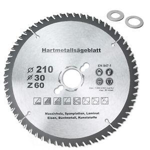 HM Multi Sägeblatt Ø120 Ø160 Ø190 Ø210 Ø250mmx30mm Universal Kreissägeblatt