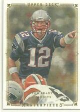 2008 Upper Deck Masterpieces #84 Tom Brady PATRIOTS