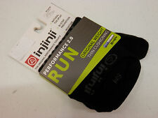 Injinji Run 2.0 Original Weight No Show Black Size M