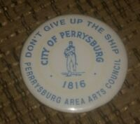 PERRYSBURG OHIO Dont Give Up The Ship COMMODORE PERRY Refrigerator fridge Magnet
