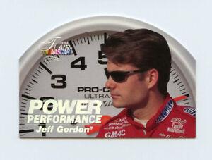 Jeff Gordon 1996 Flair Power Performance Die Cut Holofoil Stamped Insert Fleer