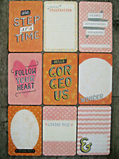 """'WONDERFUL' PROJECT LIFE CARDS  -  pack of 9 - 6"""" x 4"""""""