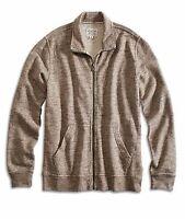Lucky Brand - Men's M - NWT$89 - Oatmeal Full-Zip Sweatshirt Jacket