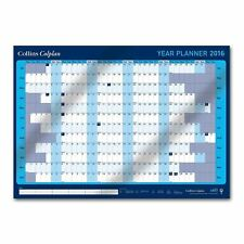 2016 Blue A1 Wall Planner, Wall Calender