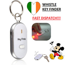 NEW Key Finder Anti Loss Keychain Whistle Tag Tracer Wireless Control LED Light