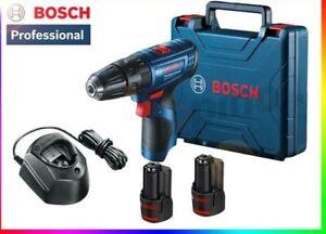 Visseuse Perceuse Percussion PRO BOSCH GSB120-LI 2 batterie 12V Chargeur Coffret
