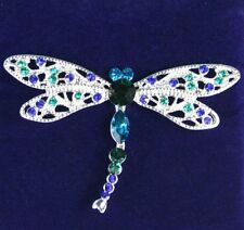Large Colourful Dragonfly Brooch (71-IBRO0789)