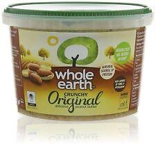 Whole Earth Peanut Butter Crunchy 1kg