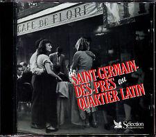 DE SAINT-GERMAIN-DES-PRES AU QUARTIER LATIN - RETRO CD COMPILATION [603]