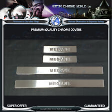 RENAULT MEGANE CHROME DOOR SILL COVERA HIGH QUALITY 5Y GUARANTEE 2010-2016 OFFER