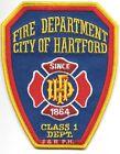 "Hartford - 1864  Fire Dept., Connecticut  (4"" x 5"" size) fire patch"