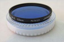 NIKON 52mm B12 FILTER (HIGH QUALITY)