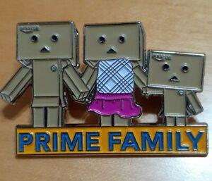*Rare* Amazon Danbo Prime Family Pin