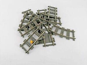 Lego 9V Eisenbahn Schienen und Weichen