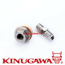 Adapter Fitting M18x1.5 to 4AN TOYOTA 3SGTE ST165 Celica Gen 1 &2 Turbo Oil Feed