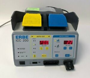 ERBE ICC 200 ESU Unit W/Foot-Switch