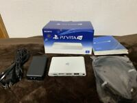 Used Sony PlayStation PS Vita TV VTE-1000 AB01 Excellent Conditon White JP