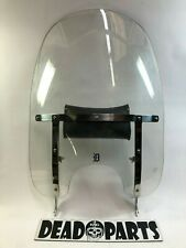 Harley tall clear detachable Heritage Softail windshield bag