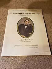 Vintage Souvenir Book Of Songs The Stephen Foster Story