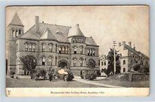 Sandusky OH, Headquarters Ohio Soldiers Home, Vintage Ohio Postcard