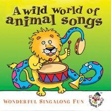 Wild World of Animal Songs CD NEW Rupert The Bear etc. Gift Idea Kids Childrens