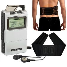 Tens 7000 Unit Shock Therapy Relief Portable Electrical Pain Muscle Massage Belt