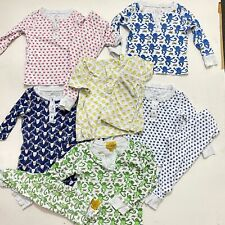 Lot of Baby Infant Roberta Roller Rabbit Pajama Pj Outfit Sets Size 12M-18M