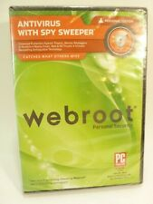 2003-2010 Webroot Personal Security Antivirus with Spy Sweeper