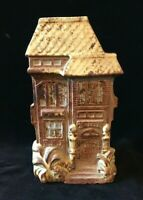 Vintage Counterpoint Victorian House Wall Packet Planter Vase
