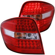 ANZO L.E.D TAIL LIGHTS RED/CLEAR FOR 06-07 MERCEDES BENZ M CLASS W164