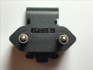 EU Slide Attachment Plug for APD AC ADAPTER 12V 2.5A WA-30J12R