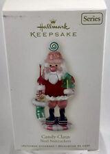 "2008 Hallmark Keepsake Ornament ""Candy Claus"" Noel Nutcrackers Christmas Decor"