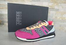 HOGAN REBEL TAGLIA 36 SNEAKERS normalissime scarpe Multicolore Nuovo ex UVP 275 €