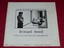 [PHOTOGRAPHIE] JAMES A.FOX (Ag.MAGNUM) Signé LEONARD FREED Expo Toulouse 1987