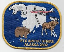 FBI FTX Artic Strike Police Sheriff State Alaska AK Scenic patch