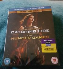 THE HUNGER GAMES.BOXSET.BLU RAY.NEW AND SEALED.