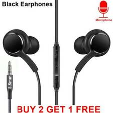 Headphones Earphones Mic Volume Remote MP3 Gym, Jogging FOR SAMSUNG IPHONE 3.5mm