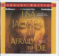 Lisa Jackson Afraid To Die 10CD Audio Book Unabridged Crime Thriller FASTPOST