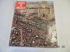 JOURS DE FRANCE N°1215 25/03/1978 ADIEU A CLAUDE FRANCOIS     I39