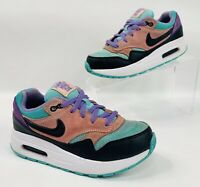Nike Air Max 1 NK Size 1Y PS Have A Nike Day Black Purple BQ7213-001