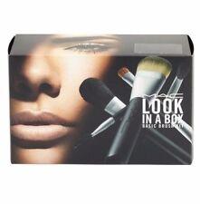 MAC Look in a Box - Basic Brush Kit Travel Bag + 5 Brushes NIB