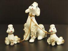 50er Jahre Porzellan Pudel Familie - 50s - Hunde