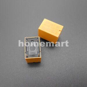 100PCS HK4100F-DC12V-SHG Volt Power Relay 3V 5V 9V 12V 24V 0.2W 3A 6 Pins 6-Pin