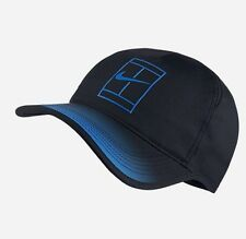 NikeCourt Aerobill Grand Adjustable Tennis Hat Black/Blue 864099-011